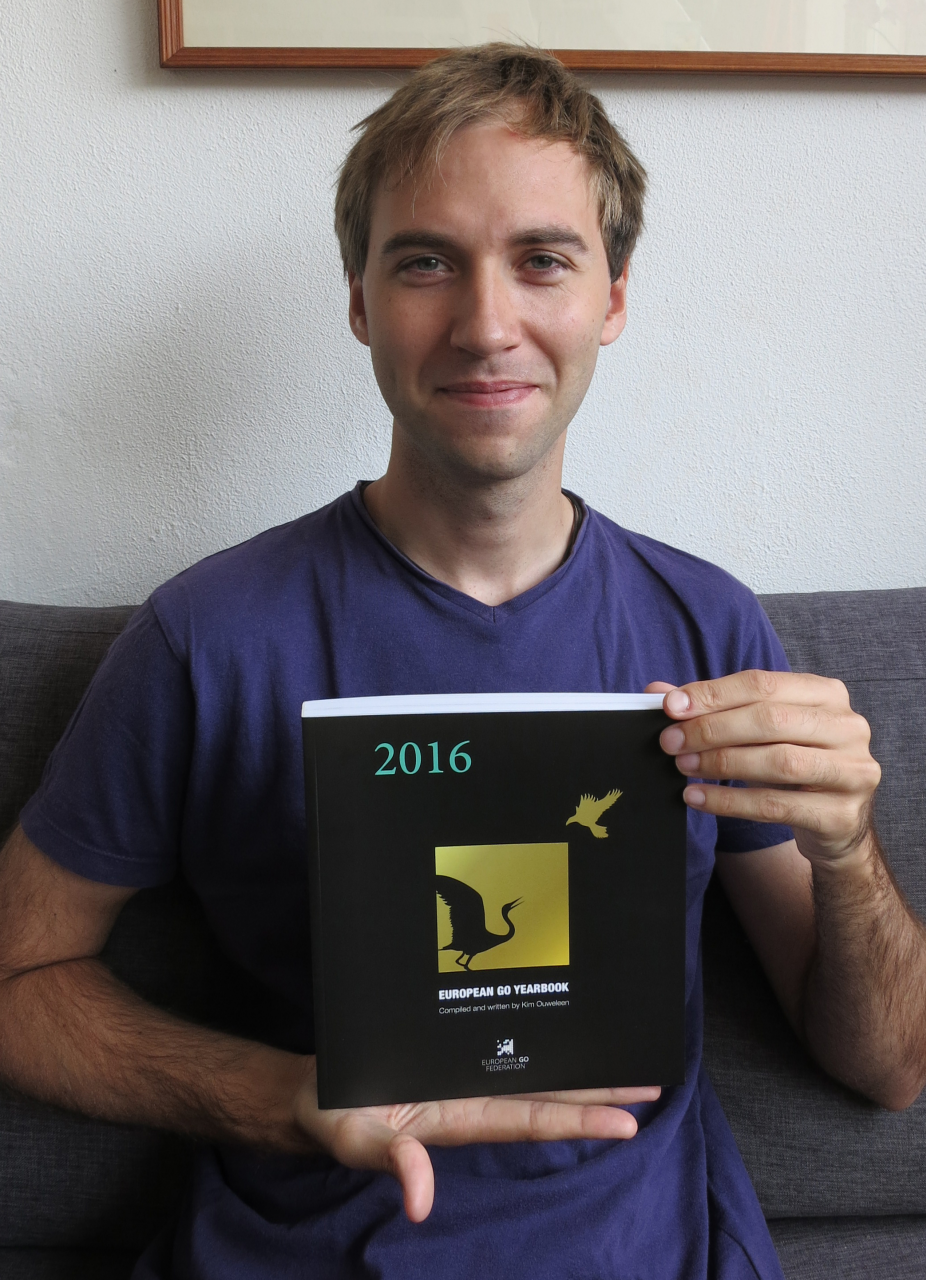 Kim Ouweleen, Author of the 2016 European Go Yearbook