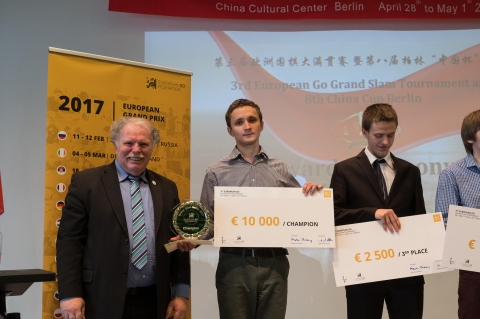 3rd European Go Grand Slam Tournament and 8th China Cup Berlin Part 1