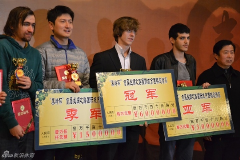 3rd Silk Road Tournament in Urumqi 1-6 Sep