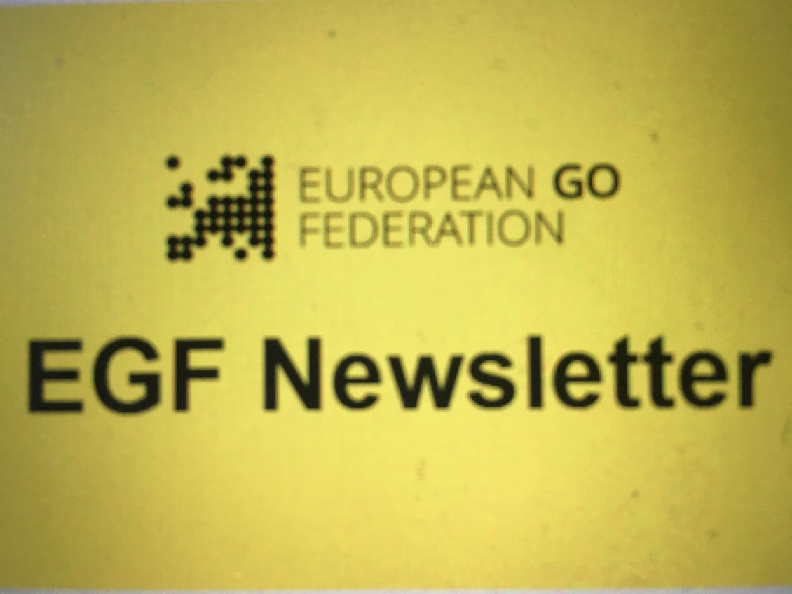 The first EGF Newsletter